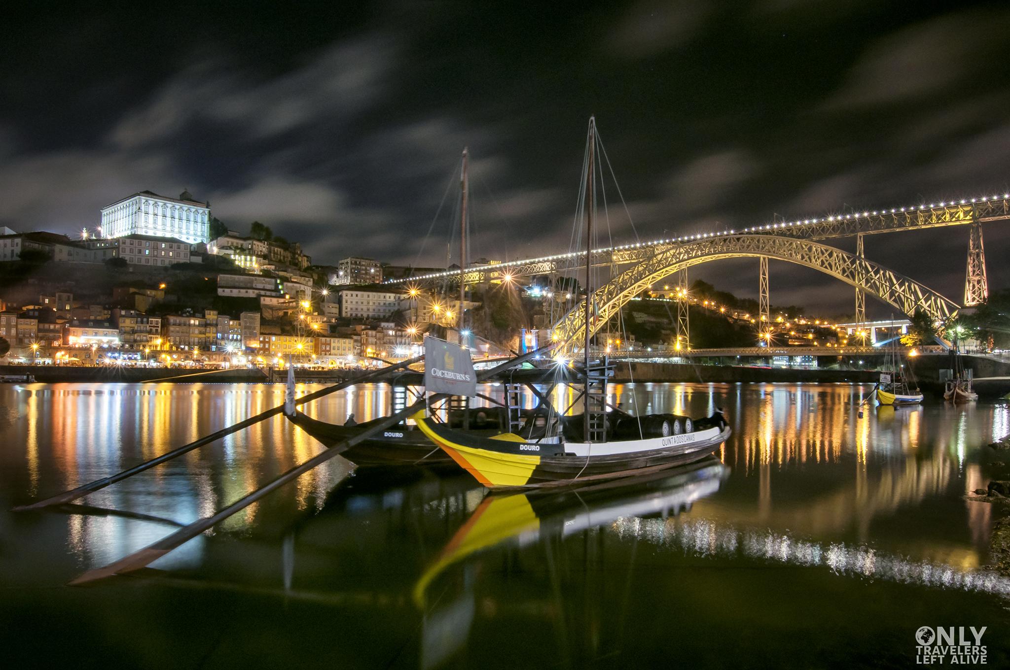 Ponte Luiz I Porto only travelers left alive